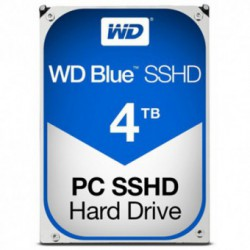 Hard Disk Western Digital Blue SSHD 4TB SATA3 64MB