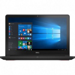 "Laptop Dell Inspiron 7559 cu procesor Intel® Core™ i5-6300HQ 2.30GHz, Skylake™, 15.6"", Full HD, 8GB, 1TB + 8GB SSHD, nVidia GeForce GTX 960M 4GB, Windows 10 Home, Black"