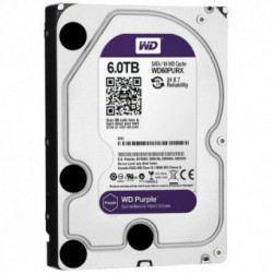 Hard Disk Western Digital Purple 6TB SATA3 64MB