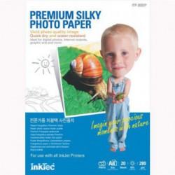 Hartie foto A4 premium silky Inktec