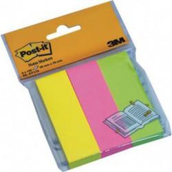 Notes Adeziv 25 x 76 mm 3 culori 100 File Post-It 3M
