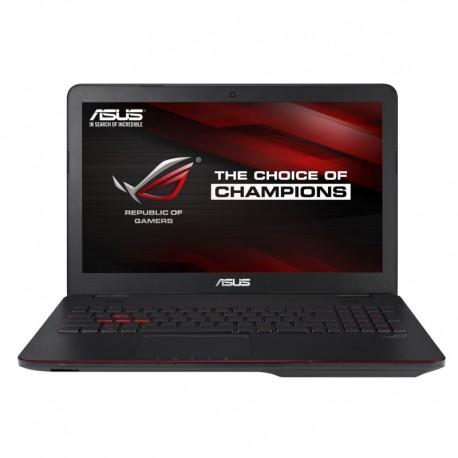 "Laptop ASUS ROG G551VW-FY179D cu procesor Intel® Core™ i7-6700HQ 2.60GHz, 15.6"", Full HD, 8GB, 1TB, nVIDIA GeForce GTX960M 4GB, Free DOS, Black"