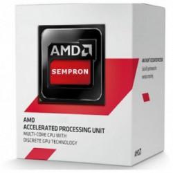 Procesor AMD Sempron 3850, AM1, 4 nuclee, Frecventa 1,3 GHz, Cache L2 2MB, GPU Radeon R3