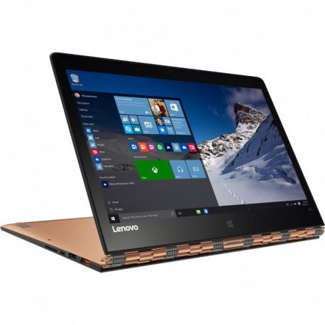 "Laptop 2 in 1 Lenovo Yoga 900-13ISK cu procesor Intel® Core™ i5-6200U 2.30GHz, Skylake™, 13.3"" QHD, IPS, Touch-Screen, 8GB, 512GB SSD, Intel® HD Graphics, Microsoft Windows 10, Gold"