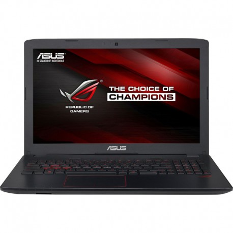 "Laptop ASUS ROG GL552VX-CN059D cu procesor Intel® Core™ i7-6700HQ 2.60GHz, Skylake™, 15.6"", Full HD, 8GB, 1TB, DVD-RW, nVIDIA GeForce GTX 950M 4GB, Free DOS, Metallic Grey"