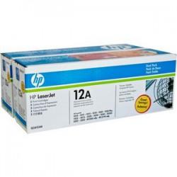 Dual Pack Cartus Toner Nr.12Ad Q2612Ad 2X2K Original Hp Laserjet 1010