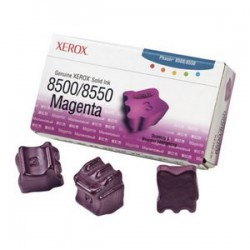 Cerneala Solida Magenta 3 Sticks 108R00670 3K Original Xerox Phaser 8500