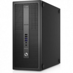 Sistem PC brand HP EliteDesk 800 G2 Tower, Intel Core i5-6500, 128GB SSD, 8GB DDR4, Intel HD Graphics 530, Windows 7 Pro + Windows 10 Pro