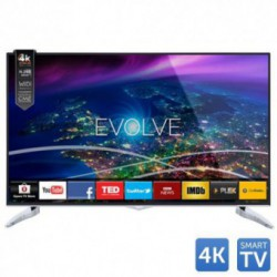 Televizor LED Horizon 55HL910U, 139 cm (55 inch), Ultra HD 4K, CME 400Hz, HDMI, USB Player, Wi-Fi, Smart TV, Negru