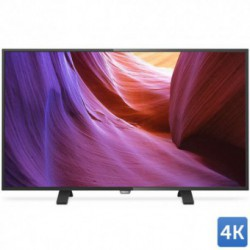Televizor LED Philips 43PUH4900/88, 109 cm (43 inch), Ultra HD 4K, PMR 400Hz, Pixel Plus Ultra HD, Procesor Dual-Core, Negru