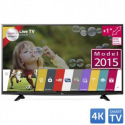 Televizor LED LG 49UF6407, 124 cm (49 inch), Ultra HD 4K, IPS, Triple XD Engine, Natural Color, Wi-Fi, webOS 2.0, Smart TV