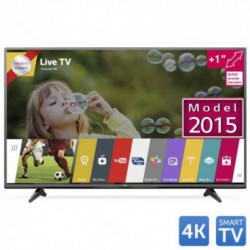 Televizor LED LG 49UF6807, 124 cm (49 inch), Ultra HD 4K, IPS, Triple XD Engine, Natural Color, Wi-Fi, webOS 2.0, Smart TV