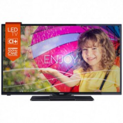 Televizor LED Horizon 24HL719H, 61 cm (24 inch), HD Ready, CME 100Hz, HDMI, USB Player, UltraSlim, Negru