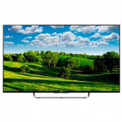 Televizor LED Sony 3D BRAVIA KDL-50W808C, 127 cm (50 inch), Full HD, Motionflow XR 1000Hz, X-Reality PRO, Wi-Fi, Android 5.0, Smart TV