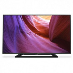 Televizor LED Philips 32PHH4100/88, 81 cm (32 inch), HD Ready, PMR 100Hz, Digital Crystal Clear, HDMI, USB, Negru