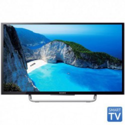 Televizor LED Sony KDL-40W705C, 101 cm (40 inch), Full HD, Motionflow XR 200Hz, X-Reality PRO, Wi-Fi, Smart TV, Negru