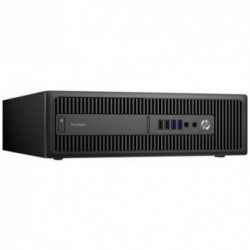 Sistem PC brand HP ProDesk 600 G2 SFF, Intel Core i3-6100, 500GB HDD, 4GB DDR4, Intel HD Graphics 530, FreeDOS