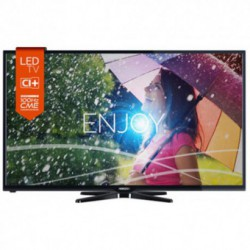 Televizor LED Horizon 32HL710H, 81 cm (32 inch), HD Ready, CME 100Hz, HDMI, USB Player, UltraSlim, Negru