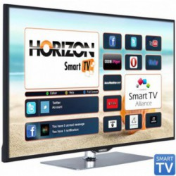 Televizor LED Horizon 42HL810F, 106 cm (42 inch), Full HD 1080p, CME 200Hz, HDMI, DLNA, Wi-Fi, Smart TV, Aluminium Stand