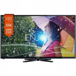 Televizor LED Horizon 32HL730H, 81 cm (32 inch), HD Ready 720p, CME 100Hz, HDMI, USB Player, Tuner DVB-T/C, Negru