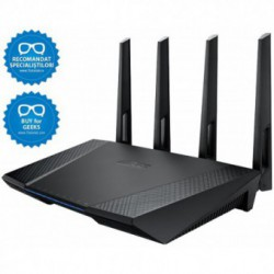 Router wireless ASUS RT-AC87U, Dual-Band, 802.11ac, 2400Mbps (600+1734), Gigabit, USB 3.0, 3G/4G