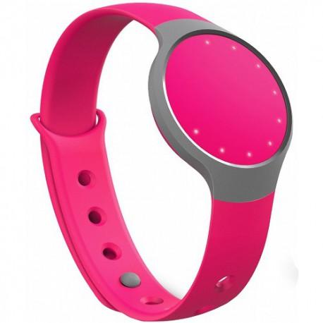 Accesoriu telefon mobil Misfit Bratara fitness Flash, Bluetooth v4.1, Roz