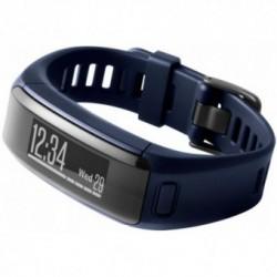 Accesoriu telefon mobil Garmin Bratara electronica Vivosmart HR, Senzor de puls, Ecran Touch OLED, Bluetooth 4.0, Albastru