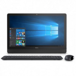 Sistem All in One Dell Inspiron 3459, Intel Core i3-6100U, 1TB HDD, 4GB DDR3L, Intel HD Graphics 520, Full HD 23.8 inch, Windows 10