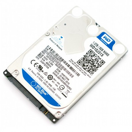 Hard Disk notebook Western Digital Blue SSHD 1TB SATA3 64MB Nand 8gb